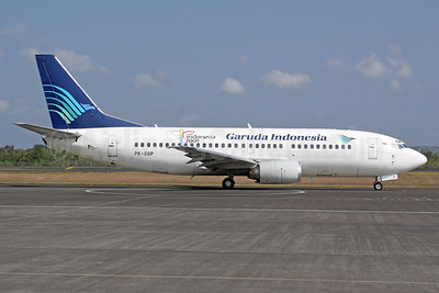 Garuda Indonesia Airways Boeing 737-3U3 PK-GGP (msn 28737) DPS (Michael B. Ing). Image: 937071.