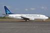 Garuda Indonesia Airways Boeing 737-3U3 PK-GGP (msn 28737) DPS (Michael B. Ing). Image: 937071.