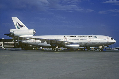 Garuda Indonesia Airways (World Airways) McDonnell Douglas DC-10-30 N107WA (msn 46836) ORY (Christian Volpati Collection). Image: 937074.