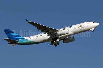 Garuda Indonesia Airways Airbus A330-243 PK-GPK (msn 1028) NRT (Michael B. Ing). Image: 907728.