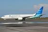 Garuda Indonesia Airways Boeing 737-8U3 WL PK-GMH (msn 30142) (Visit Indonesia) SUB (Michael B. Ing). Image: 924189.