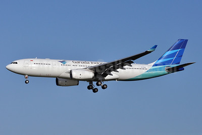 Garuda Indonesia Airways Airbus A330-243 PK-GPM (msn 1214) AMS (Tony Storck). Image: 912833.