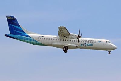 Garuda Indonesia Explore ATR 72-212A (ATR 72-600) PK-GAA (msn 1119) DPS (Pascal Simon). Image: 943877.