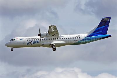 Garuda Indonesia Explore ATR 72-212A (ATR 72-600) F-WWEE (PK-GAD) (msn 1140) TLS (Eurospot). Image: 922497.