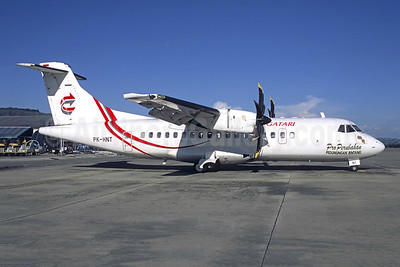 Gatari Air Service ATR 42-500 PK-HNT (msn 614) DJJ (Jacques Guillem Collection). Image: 946551.