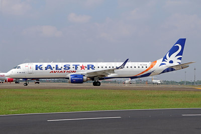 Kalstar Aviation Embraer ERJ 190-200LR (ERJ 195) PK-KDA (msn 19000029) CGK (Michael B. Ing). Image: 938401.