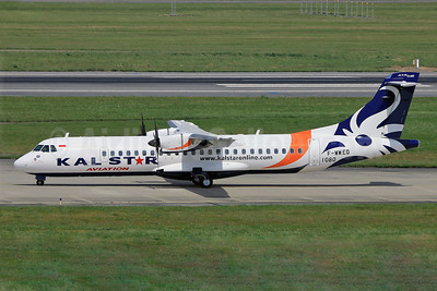 Kalstar Aviation ATR 72-212A (ATR 72-600) F-WWEQ (PK-KSA) (msn 1080) TLS (Eurospot). Image: 912910.