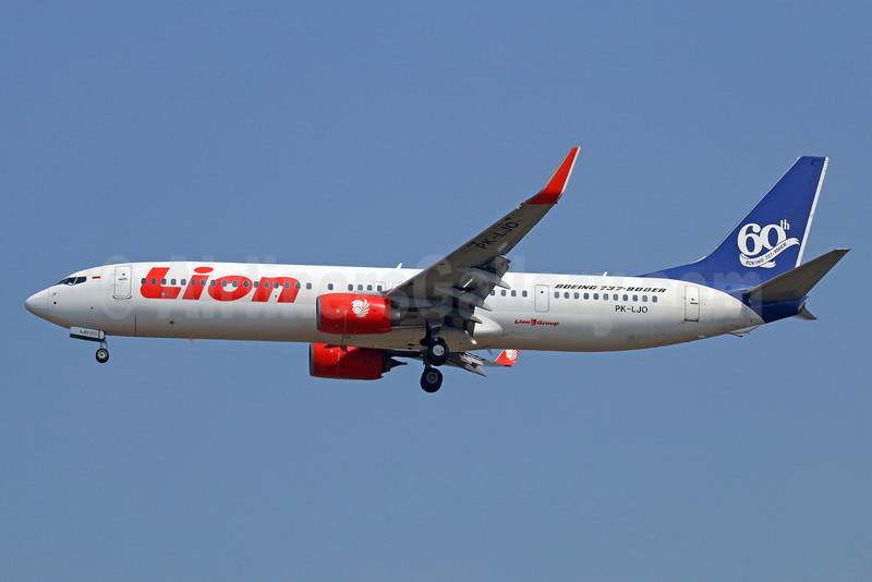 Lion Air's 60th Boeing 737-900ER
