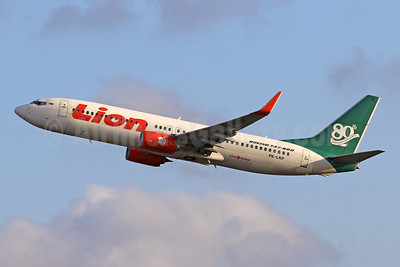 "Lion Air's 2013 ""80th Next-Generation 737"" special livery"