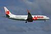 Lion Air (PT Lion Mentari Airlines) Boeing 737-8GP WL PK-LKT (msn 38733) PEN (Rob Finlayson). Image: 938408.