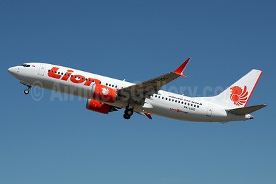 Lion Air (PT Lion Mentari Airlines) Boeing 737-8 MAX 8 PK-LQG (msn 42995) BFI (James Helbock). Image: 939077.