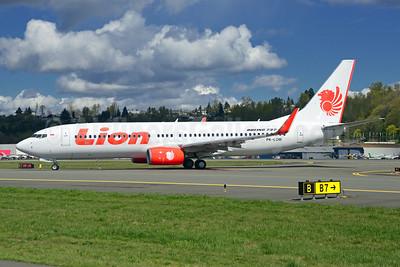 Lion Air (PT Lion Mentari Airlines) Boeing 737-8GP WL PK-LOM (msn 38750) BFI (Steve Bailey). Image: 922769.