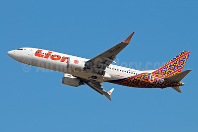 Lion Air (PT Lion Mentari Airlines) Boeing 737-8 MAX 8 PK-LQJ (msn 42988) (Batik Indonesia colors) DPS (Marco Finelli). Image: 943358.