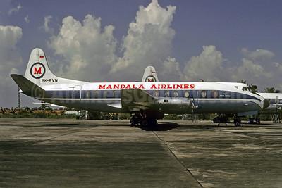 Mandala Airlines-Seulawah Vickers Viscount 832 PK-RVN (msn 415) JKT (Christian Volpati). Image: 923191.