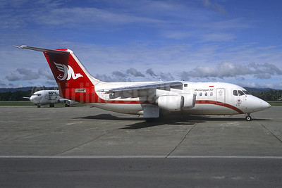 Manunggal Air BAe 146-100 PK-VTM (msn E1009) (Jacques Guillem Collection). Image: 945227.