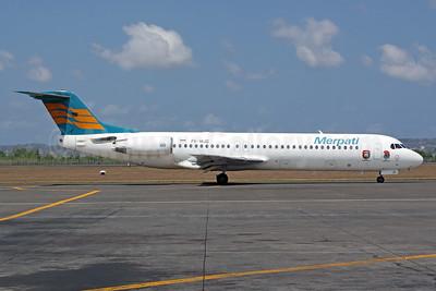 Merpati Nusantara Airlines Fokker F.28 Mk. 0100 PK-MJD (msn 11474) DPS (Michael B. Ing). Image: 926978.