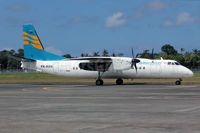 Merpati Nusantara Airlines Xian MA60 PK-MZA (msn 0407) DPS (Michael B. Ing). Image: 924247.