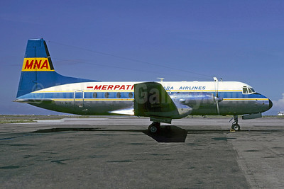Merpati Nusantara Airlines Hawker Siddeley HS.748 Series 2A PK-MHR (msn 1696) DPS (Christian Volpati). Image: 901003.