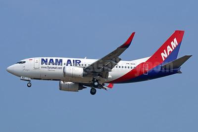 NAM Air Boeing 737-524 WL PK-NAO (msn 27531) CGK (Michael B. Ing). Image: 929064.