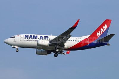NAM Air Boeing 737-524 WL PK-NAP (msn 27534) CGK (Michael B. Ing). Image: 934011.
