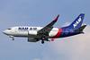 NAM Air Boeing 737-524 WL PK-NAL (msn 27527) (Sriwijaya colors) CGK (Michael B. Ing). Image: 934009.