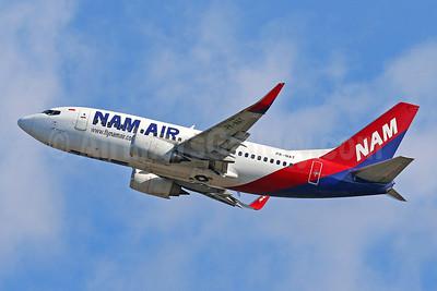 NAM Air Boeing 737-524 WL PK-NAT (msn 27529) DPS (Pascal Simon). Image: 943378.