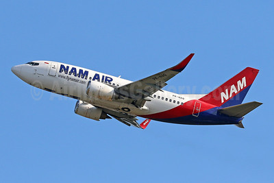 NAM Air Boeing 737-524 WL PK-NAQ (msn 27535) DPS (Pascal Simon). Image: 943377.