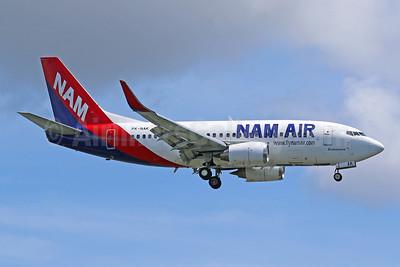NAM Air Boeing 737-524 WL PK-NAK (msn 27332) DPS (Pascal Simon). Image: 943374.
