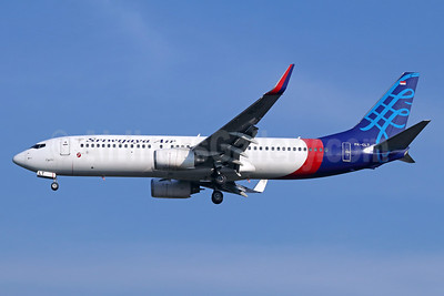 Sriwijaya Air Boeing 737-8K5 WL PK-CLT (msn 27991) CGK (Michael B. Ing). Image: 929065.