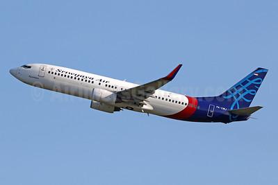 Sriwijaya Air Boeing 737-85P WL PK-CMJ (msn 28381) DPS (Pascal Simon). Image: 943894.