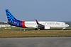 Sriwijaya Air Boeing 737-86J WL EI-FBP (PK-CLR) (msn 28071) SNN (Malcolm Nason). Image: 911819.