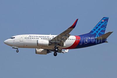 Sriwijaya Air-NAM Air Boeing 737-524 WL PK-CLJ (msn 27527) CGK (Michael B. Ing). Image: 929017.