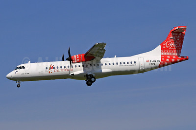 First ATR 72-600 for TransNusa
