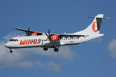 Wings Air (Indonesia) ATR 72-212A (ATR 72-500) F-WWEV (PK-WFI) (msn 871) TLS (Wingnut). Image: 908794.