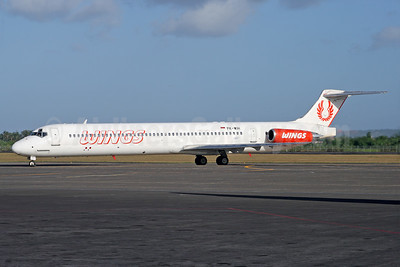 Wings Air (Indonesia) McDonnell Douglas DC-9-82 (MD-82) PK-WIH (msn 49582) DPS (Michael B. Ing). Image: 927754.