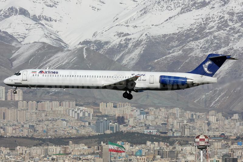 "ATA Airlines (Iran) McDonnell Douglas DC-9-83 (MD-83) EP-TAP (msn 53466) THR (Shahram ""Shary"" Sharifi). Image: 911420."
