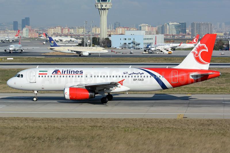 ATA Airlines (Iran) (Khors Aircompany) Airbus A320-231 EP-TAD (msn 361) IST (Nik French). Image: 927502.