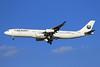 Iran Aseman Airlines Airbus A340-311 EP-APA (msn 002) DXB (Eurospot). Image: 909989.