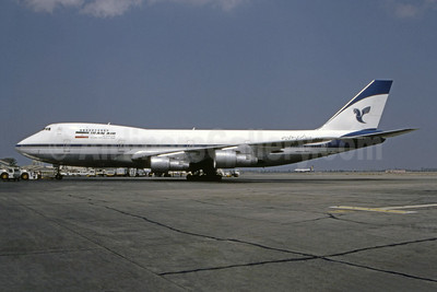 Iran Air-The Airline of the Islamic Republic of Iran Boeing 747-186B EP-IAM (msn 21759) FRA (Bruce Drum Collection). Image: 944805.