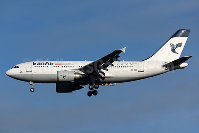 IranAir-The Airline of the Islamic Republic of Iran Airbus A310-304 EP-IBK (msn 671) LHR (Rolf Wallner). Image: 932867.