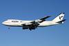 IranAir-The Airline of the Islamic Republic of Iran Boeing 747-186B EP-IAM (msn 21759) LHR (Antony J. Best). Image: 935163.
