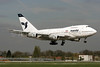 IranAir Boeing 747SP-86 EP-IAA (msn 20998) LHR (SPA). Image: 936908.