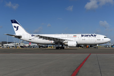 IranAir-The Airline of the Islamic Republic of Iran Airbus A300B4-605R EP-IBC (msn 632) AMS (Ton Jochems). Image: 902125.