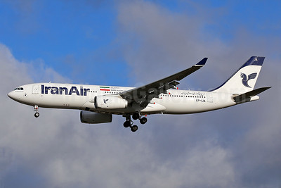 IranAir-The Airline of the Islamic Republic of Iran Airbus A330-243 EP-IJA (msn 1540) LHR (Keith Burton). Image: 940031.