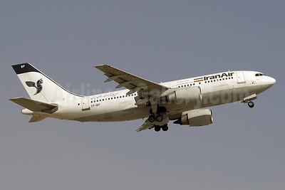 IranAir-The Airline of the Islamic Republic of Iran Airbus A310-203 EP-IBP (msn 370) DXB (Paul Denton). Image: 911018.