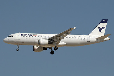 IranAir-The Airline of the Islamic Republic of Iran Airbus A320-211 EP-IEG (msn 2054) DXB (Paul Denton). Image: 935162.