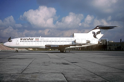 IranAir-The Airline of the Islamic Republic of Iran Boeing 727-86 EP-IRB (msn 19172) (Christian Volpati Collection). Image: 935158.