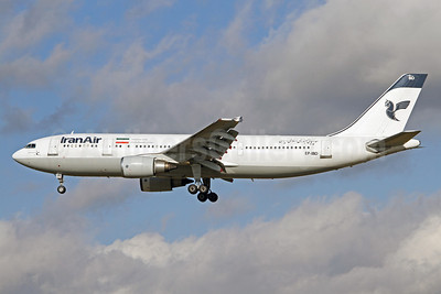 IranAir-The Airline of the Islamic Republic of Iran Airbus A300B4-605R EP-IBD (msn 696) FRA (Pascal Simon). Image: 912940.