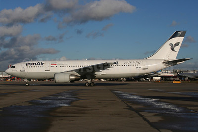 IranAir-The Airline of the Islamic Republic of Iran Airbus A300B4-605R EP-IBC (msn 632) LHR (Wingnut). Image: 907629.