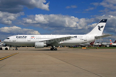 IranAir-The Airline of the Islamic Republic of Iran Airbus A300B4-605R EP-IBD (msn 696) LHR. Image: 935161.